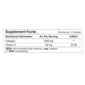 کپسول کـلاژن + ویـتامین ث  رزاویت